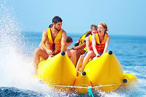 Banana Boat Rides - Ikes Parasail